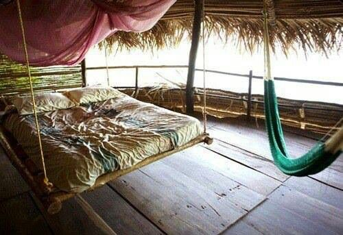 Bed swing....