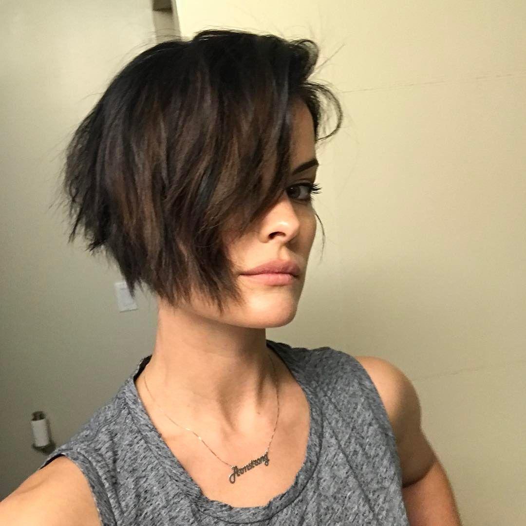 112 Me Gusta 2 Comentarios Jaimie Alexander Jaimiealexander En Instagram New Hair Summer Jaimie Alexander Short Hair Styles Jamie Alexander Hair