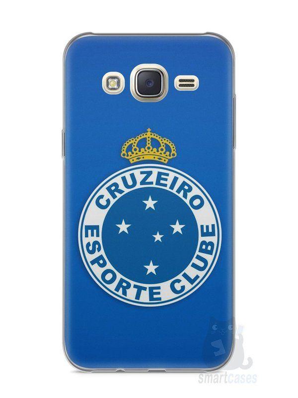 Capa Capinha Samsung J7 Time Cruzeiro #1 - SmartCases - Acessórios para celulares e tablets :)
