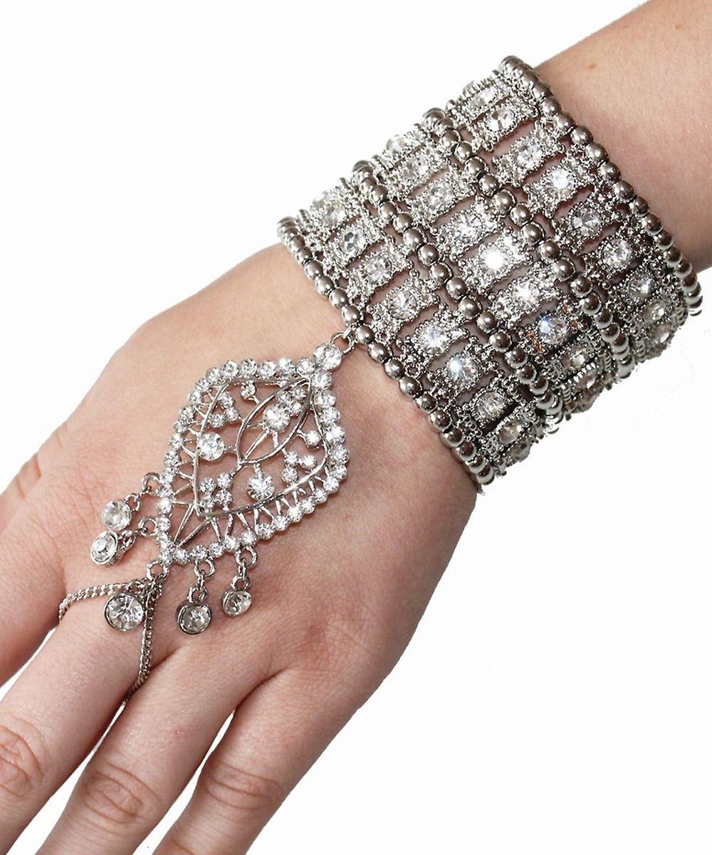 1920s Great Gatsby Inspired Bracelet Hand Chain Lately