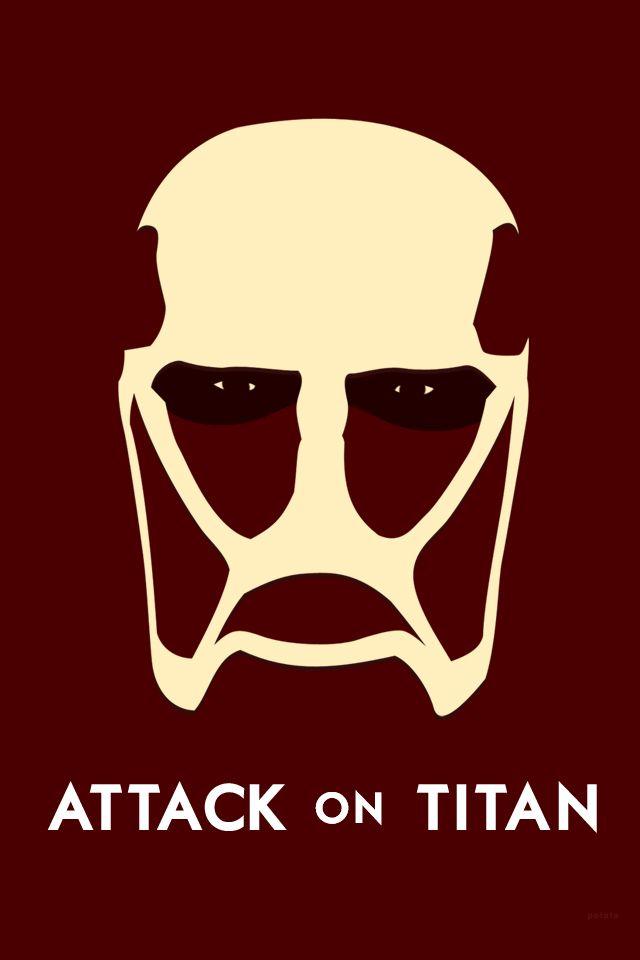 Minimalist, anime, girl, shingeki no kyojin, mikasa ackerman, attack on titan, brown, action, super power, drama, fantasy, shounen. Attak On Titan Minimal   Attack on titan, Titans, Titans anime