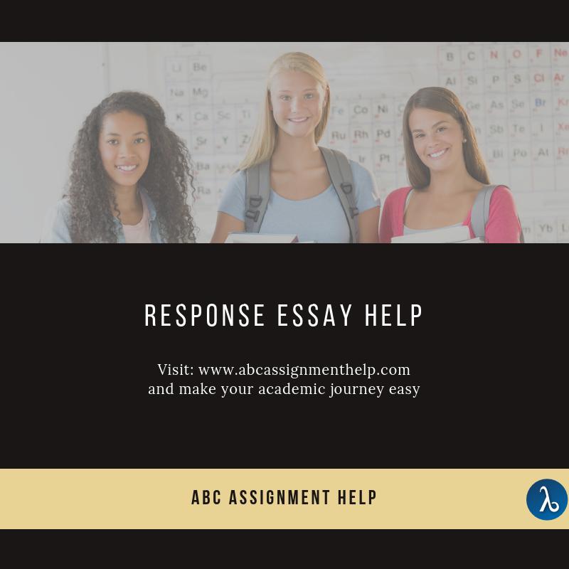Response essay writing help