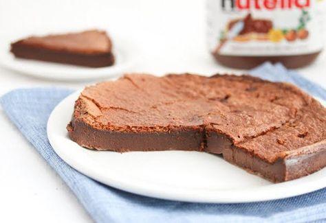 Torta Fácil de Nutella