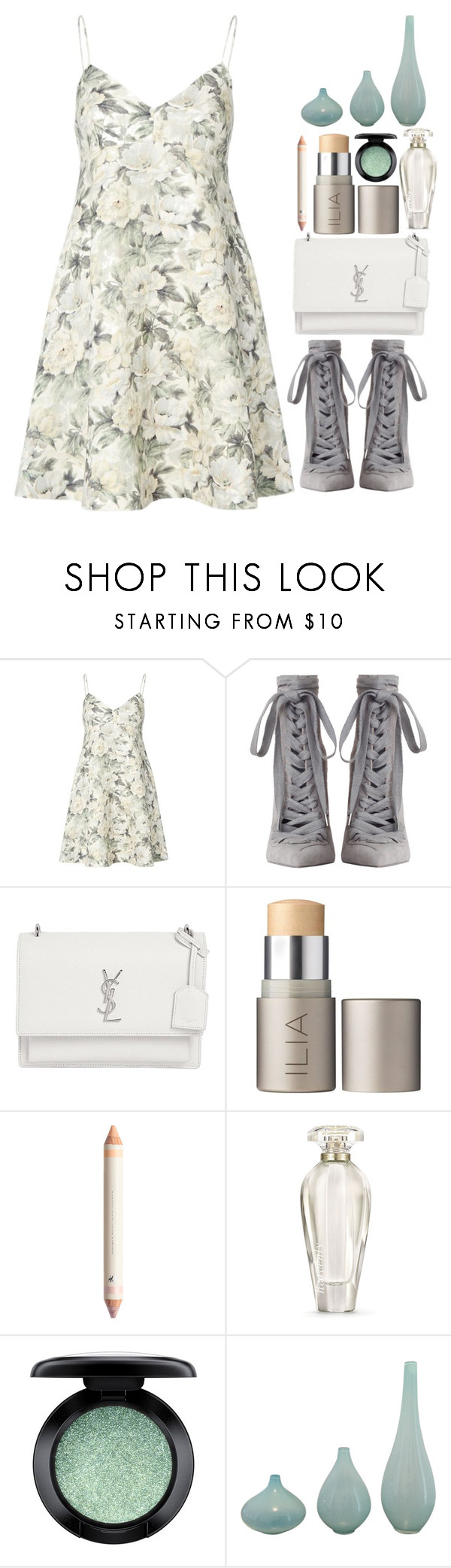 """""""Untitled #12"""" by saost ❤ liked on Polyvore featuring Zimmermann, Yves Saint Laurent, Ilia, Victoria's Secret and MAC Cosmetics"""