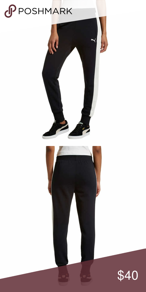 Puma Ladies/' French Terry Jogger Pants