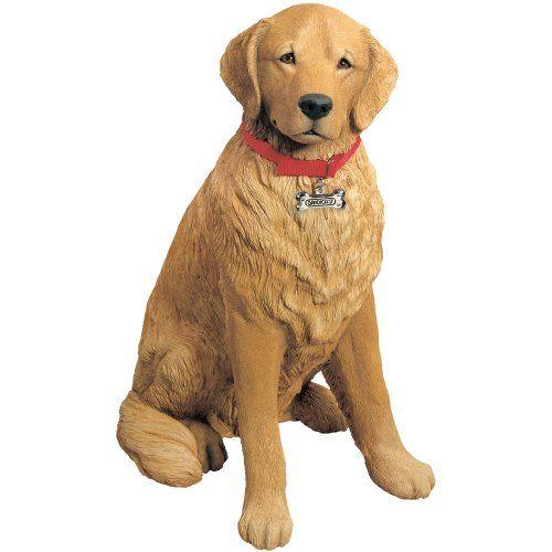 Life Size Large Golden Retriever Dog Sculpture Dogs Golden
