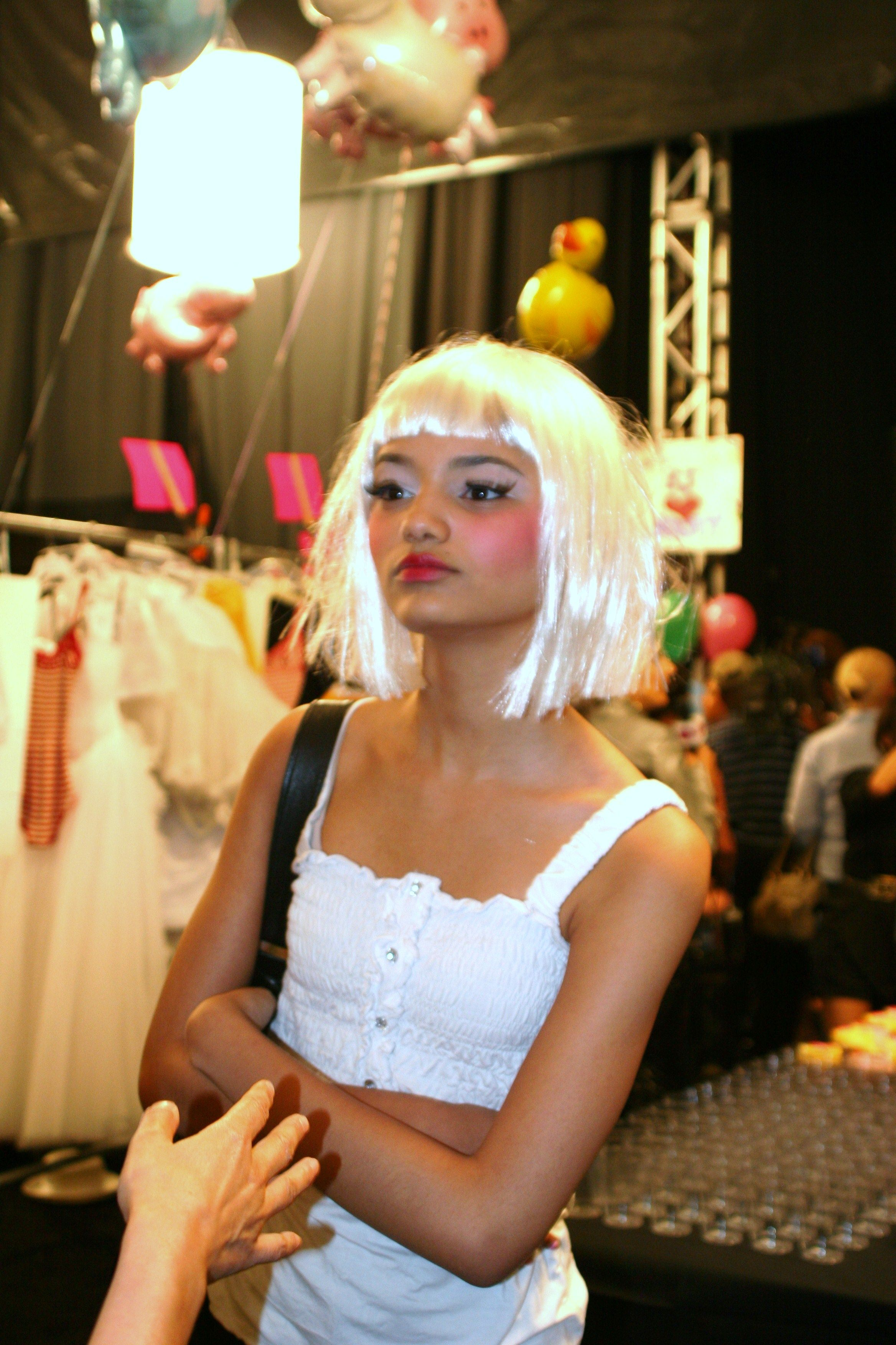 Fashion style Johnson betsey backstage beauty for girls
