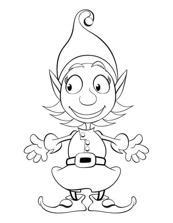 Elf Coloring Pages Printable Coloring Pages Christmas Coloring Pages Coloring Books