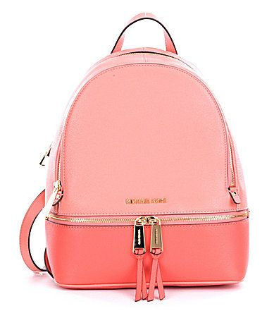 MICHAEL Michael Kors Rhea Color Block Zip Medium Backpack  Dillards ... 4f148352ff074