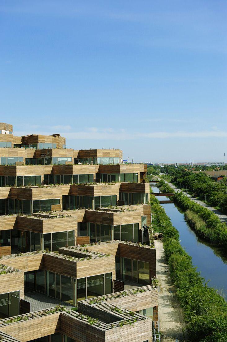 Architettura Sostenibile Architetti mountain dwellings / plot = big + jds | architettura