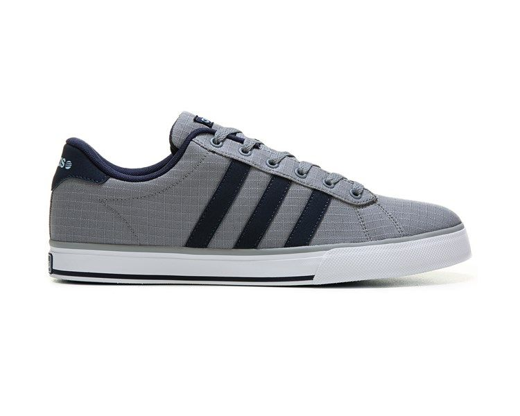adidas Neo Daily Vulc Low Top Sneaker Black Black White 6b116a5af