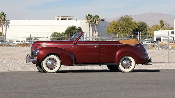 1940 Mercury Convertible Sedan 240 95 Hp 1 Of 1 150 Produced Mecum Auctions Classic Cars Sedan Classy Cars