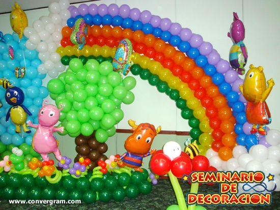 Decoracion con globos para fiestas infantiles - Decoracion para fiesta infantil ...