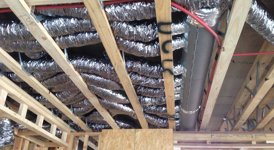 Small Duct Systems Cooling Air conditioning system