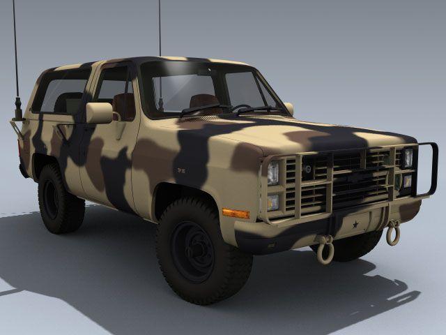 m1009 cucv m1008 m1010 army usarmy truck blazer marines