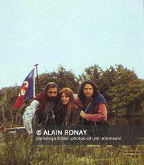 Last photos of Jim Morrison, Paris 1971 Alain Ronay b