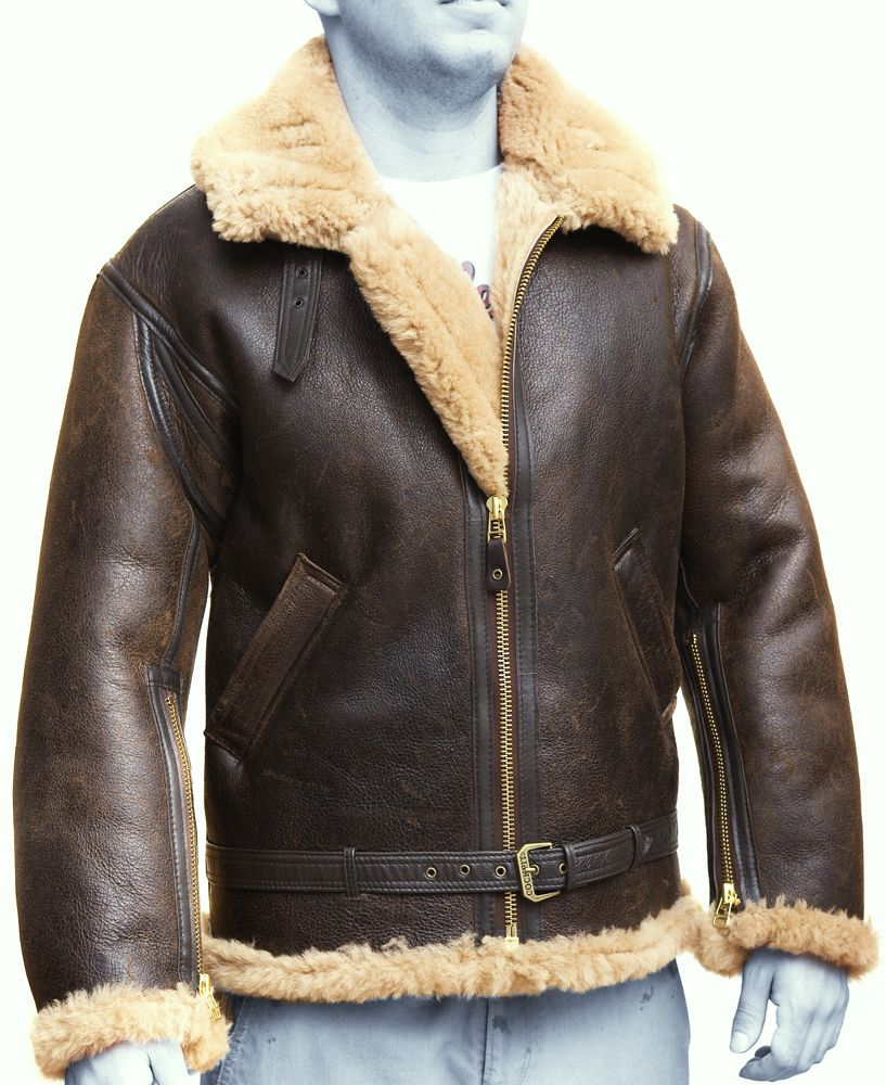 Buck j24 | leather pilot #jacket #fur | Lady Killer | Pinterest ...
