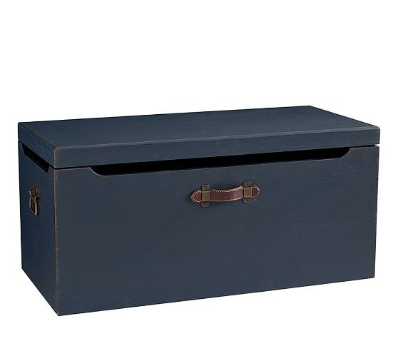 Tucker Toy Chest In 2020 Pottery Barn Toy Storage Toy
