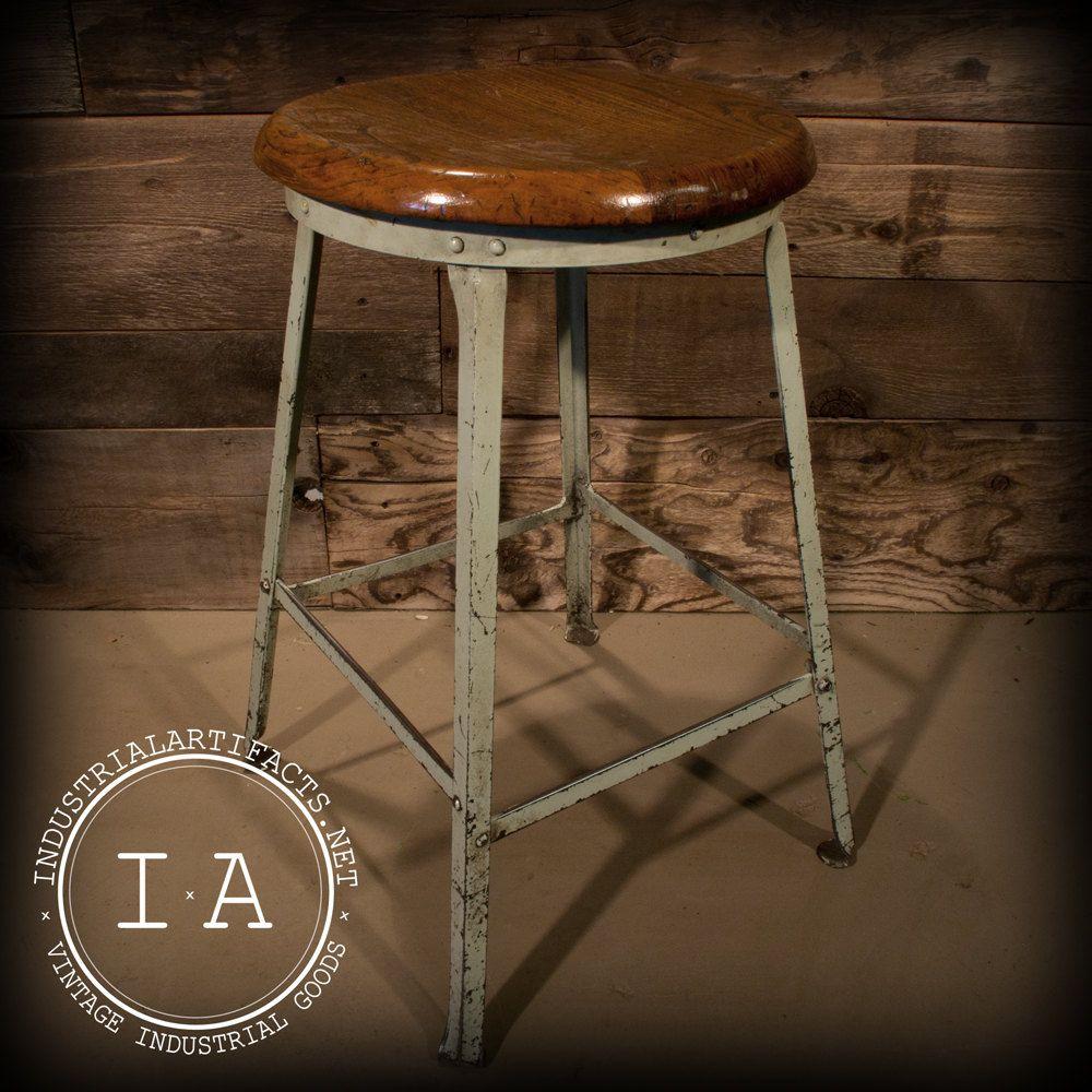 Bar Stools Vintage Industrial Wood Adjustable Seat Kitchen Rustic Design Y7j2 Unbrandedgeneric Mode Industrial Bar Stools Vintage Bar Stools Metal Bar Stools