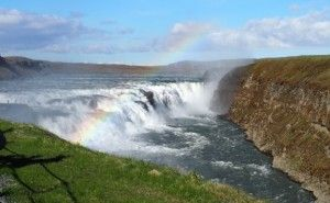 Gulfoss waterfall in the Golden Circle