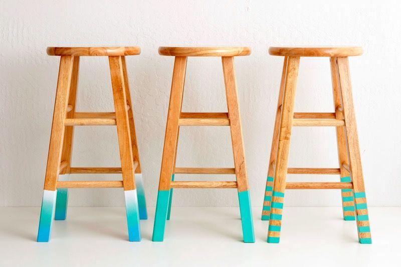 Sedie Decorate Fai Da Te : Decorazione casa modo originale fai da te sedie alte legno dipinte
