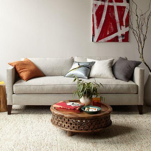Bon Dunham Down Filled Sofa   Box Cushion