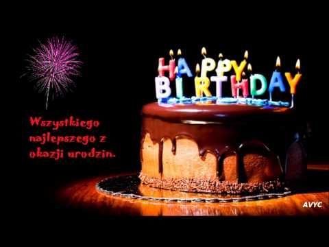 Sto Lat Polish Birthday Song Youtube Happy Birthday