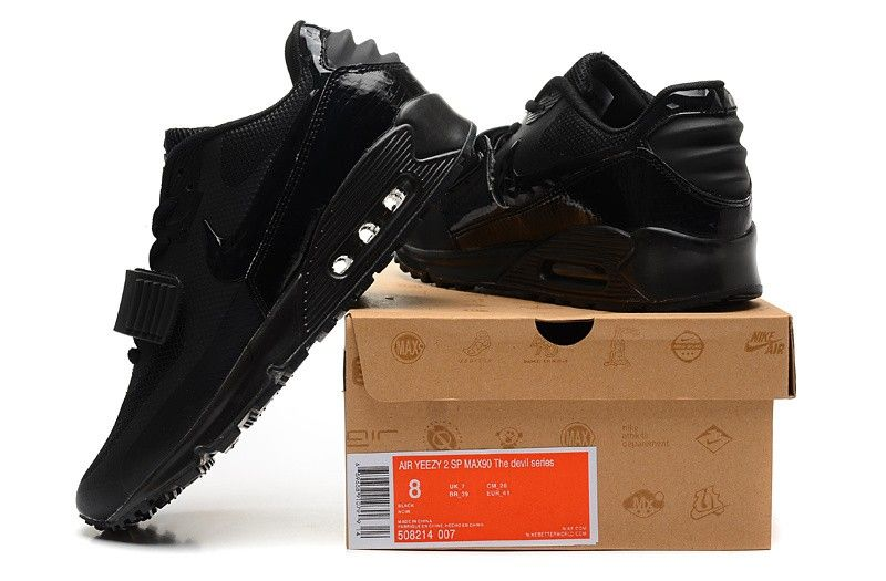premium selection ca91f d9a7a Nike Air Max 90 AIR YEEZY II 2 SP MAX 90 THE DEVIL SERIES black via MFancy  Boutique. Click on the image to see more!