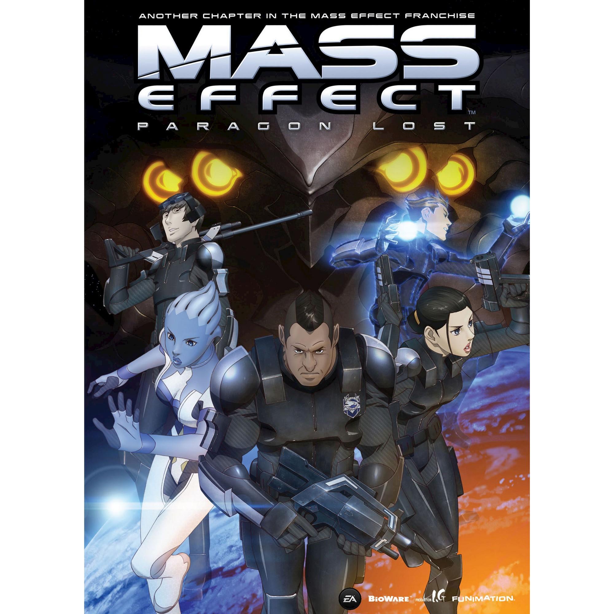 Mass Effect Paragon Lost Anime Movie Dvd Dvd Mass Effect