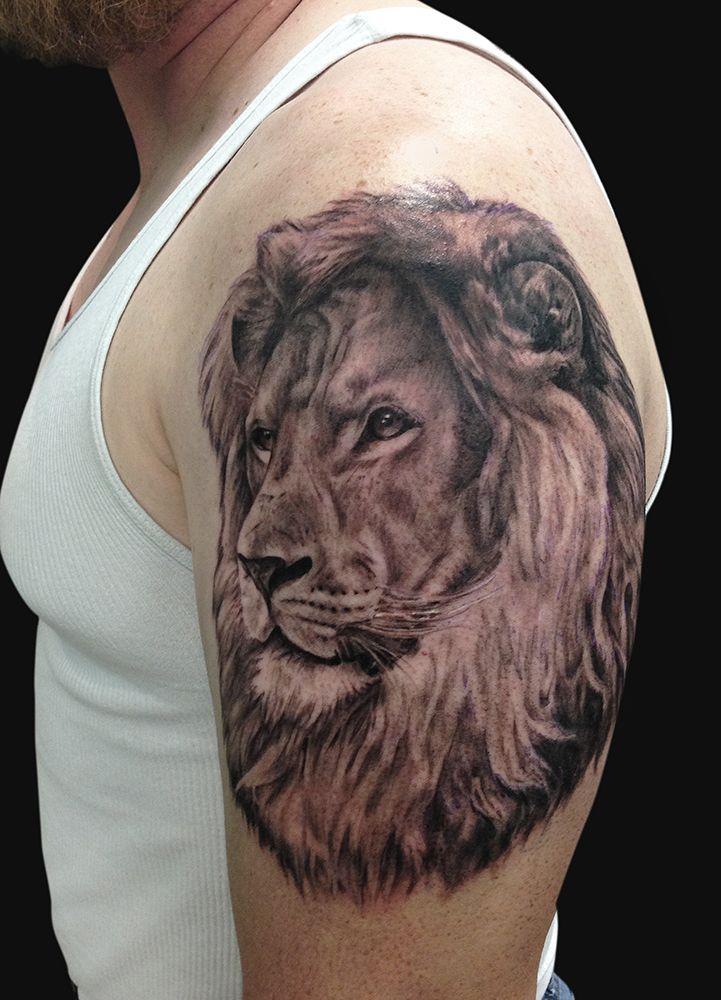 Jamie Lee Parker Calm Lion Tattoo Tattoos and Fine Art