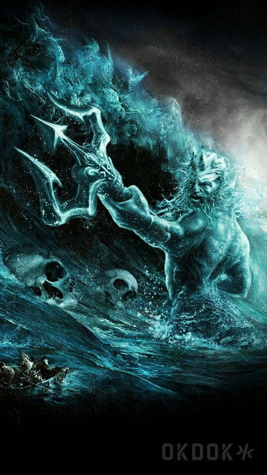 Okdok Poseidon Wallpaper Mythology Tattoos Greek