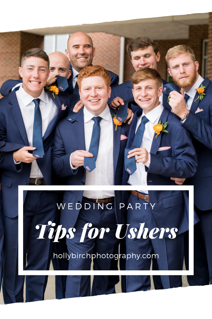 Tips For Ushers Bride S Planning Guide Pass These Great Tips Along To Those In Your Wedding Party To Ensure They Unders Bride Planning Wedding Ushers Usher