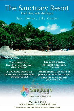 Sanctuary On Koh Phangan Thailand A Remote Beach Resort For