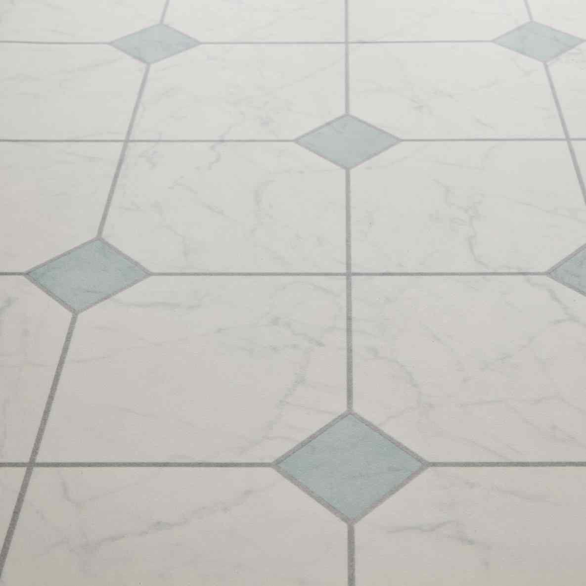 New White Linoleum Tiles At Xxbb821