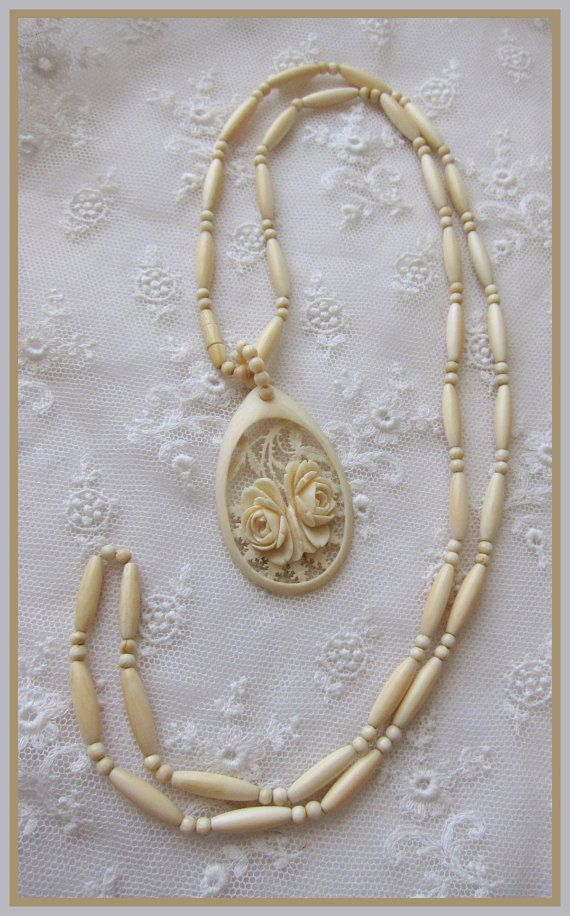 Gradyladies Vintage Jewelry Necklace Antique Rings