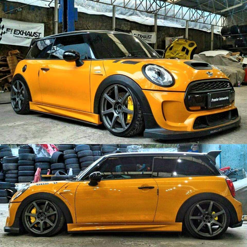 Custom Jcw Mini Auto Crazed Bmw Mini Mini Cooper 2017 Mini