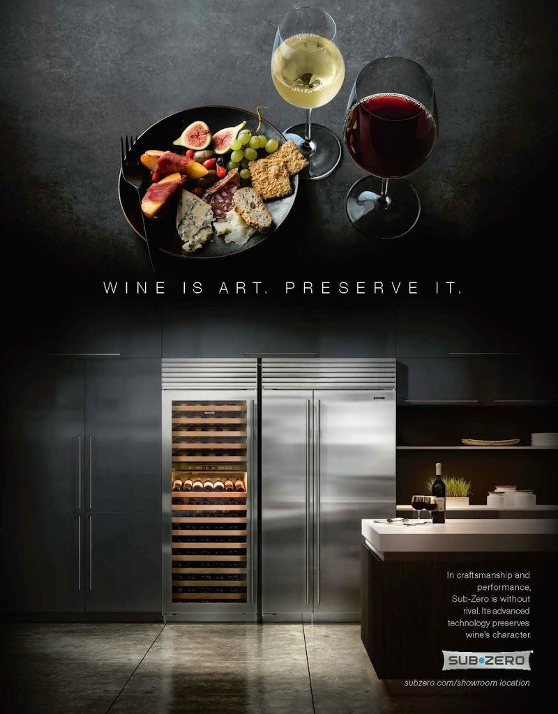 Wine is art preserve it wine cooling appliance from subzero sub