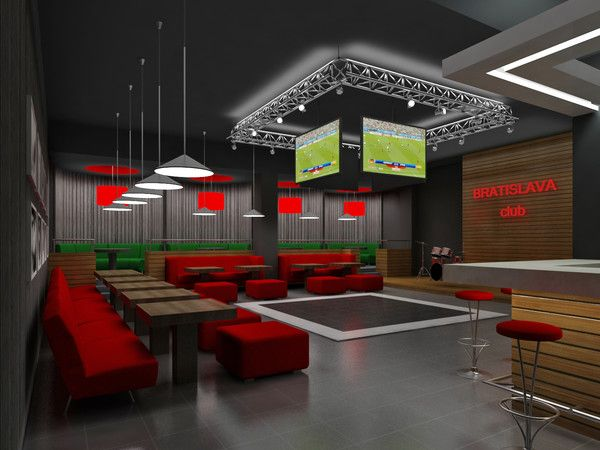 Sports Bar Decor Image By Andris Silins On Sport Bars Interior