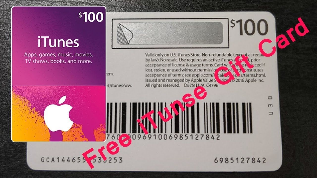 Pin on Free iTunes Gift Card Giveaway