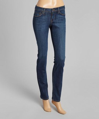 $44.99 Love this Dawn Nikki Straight-Leg Jeans by David Kahn on #zulily! #zulilyfinds