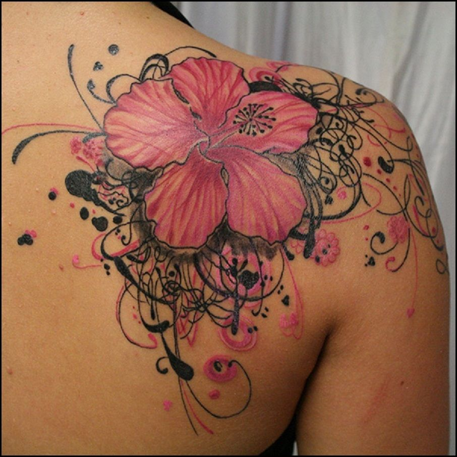 Inspirations And Ideas Hawaiian Flower Tattoo For Woman Tattoo