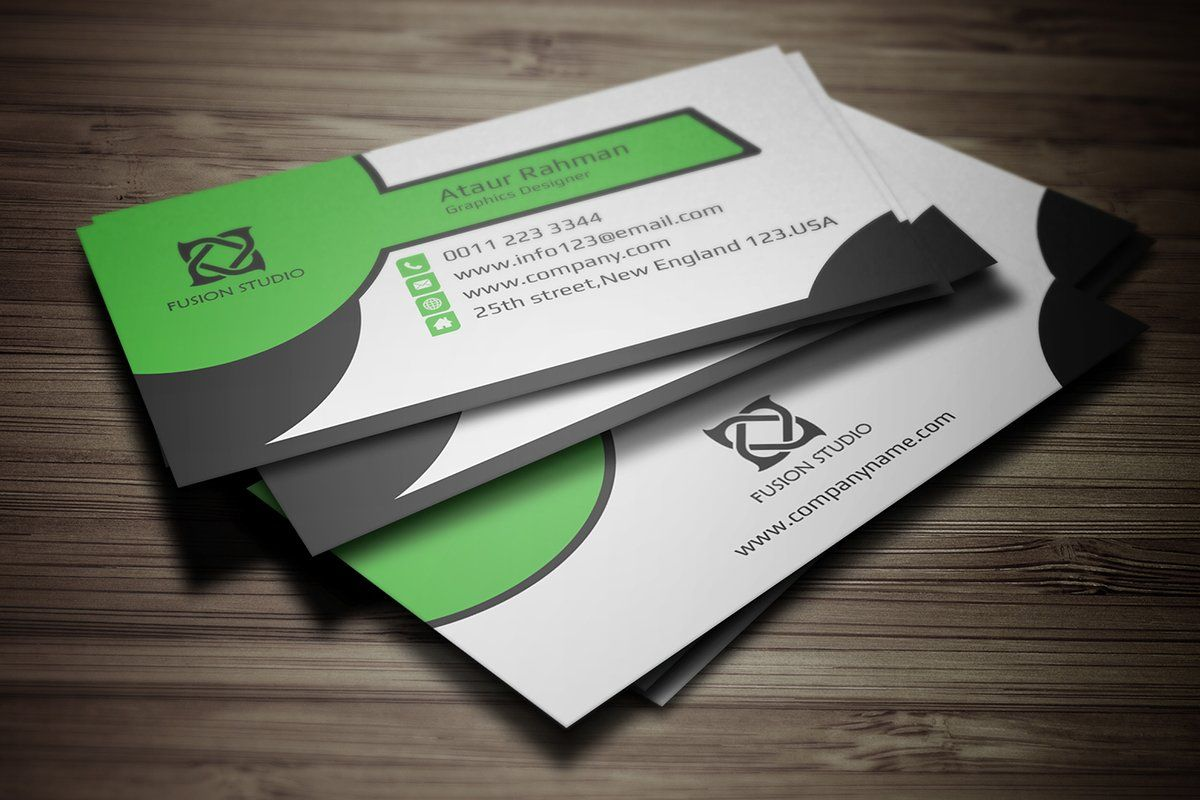 Business Card By Pixelpick On Creativemarket Business Card Template It S Made With Phot In 2020 Business Cards Creative Minimal Business Card Corporate Business Card