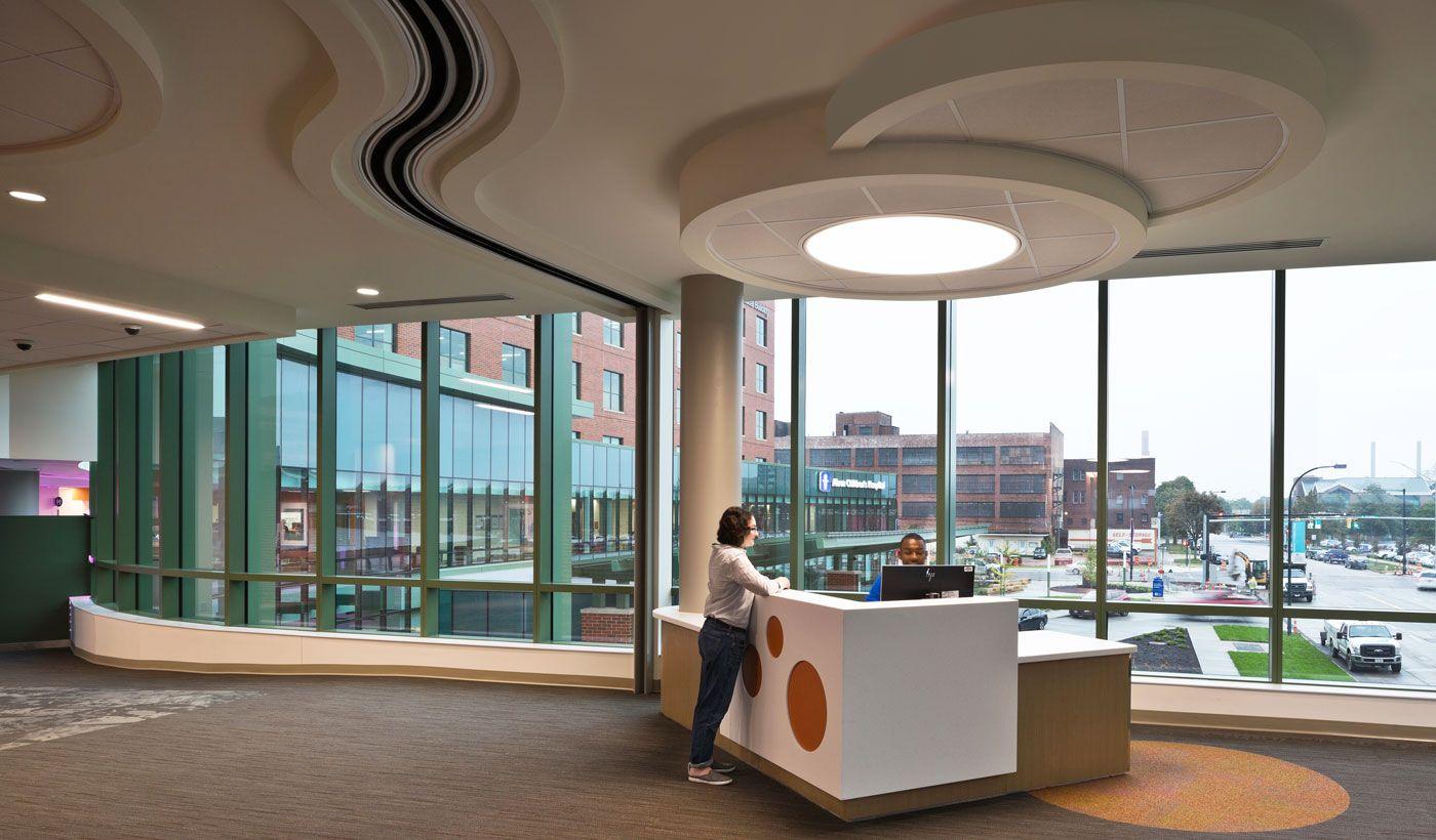 Photo Tour Ocean Medical Center Ed Medical Office Decor Healthcare Design Reception Desk Design