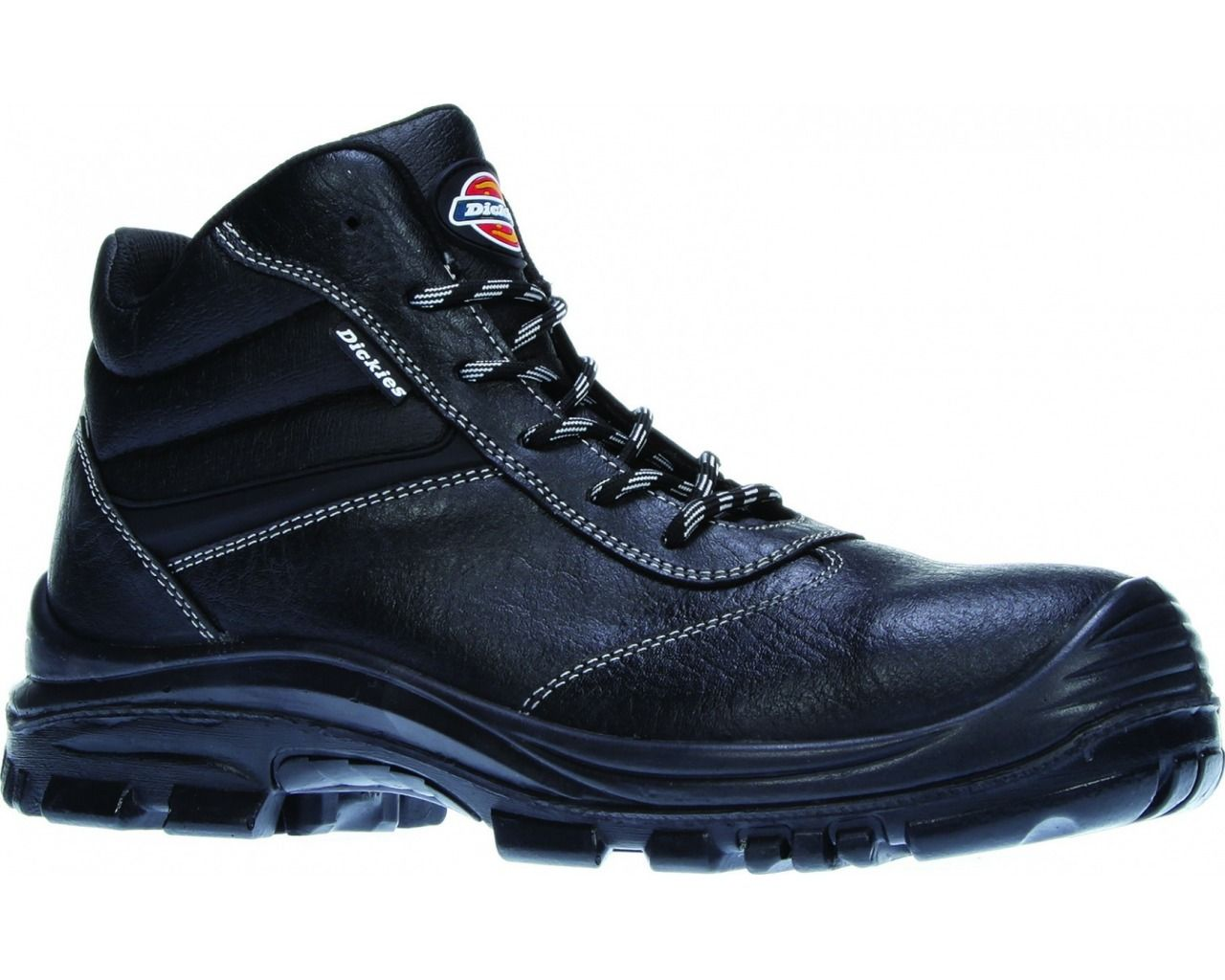 Dickies fractus safety boot sizes 312 black with