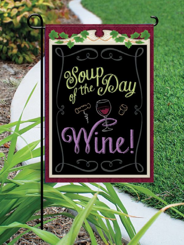 Garden Flags Chris Stuff Wine Gifts Wine Accessories Wine Design