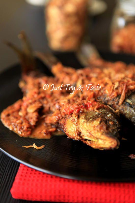 Resep Kiriman Pembaca Jtt Pecak Ikan Mas A La Sefri Antini Resep Masakan Indonesia Resep Makanan Masakan Indonesia