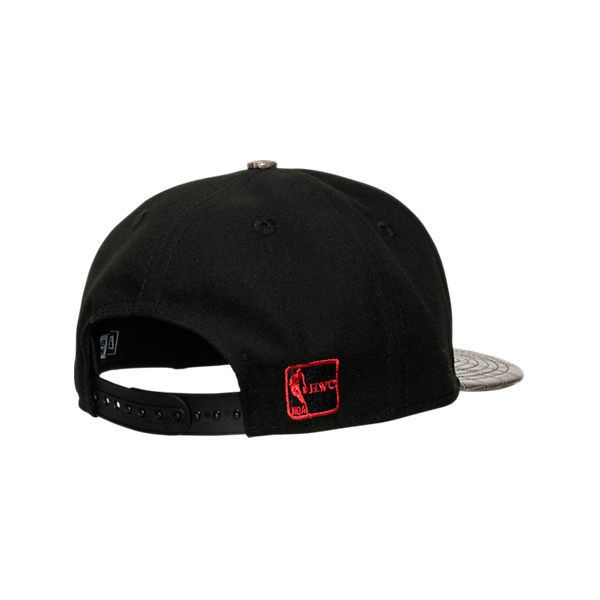 New Era Miami Heat NBA Vize Skinz Snapback Hat (46 BGN) ❤ liked on Polyvore featuring accessories, hats, black, sun visor, embroidery hats, embroidered snapbacks, embroidered snapback hats and visor hats