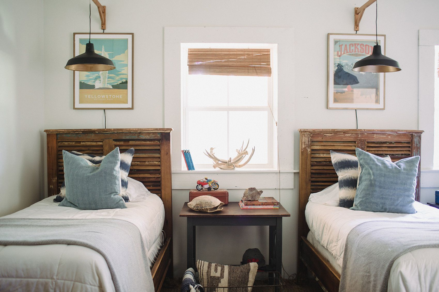 50 Stunning Farmhouse Bedroom Design Ideas for your Kid's ...