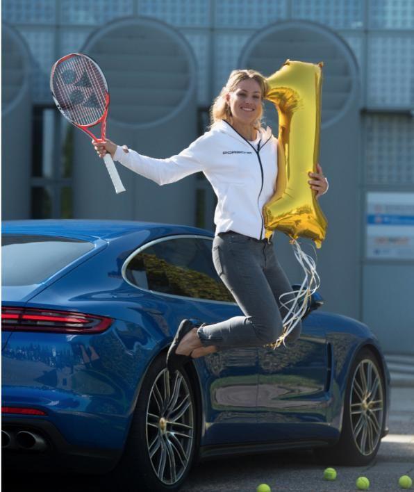 Unsere Tennis Konigin Angie Und Die Liebe Sport Promis Tennis
