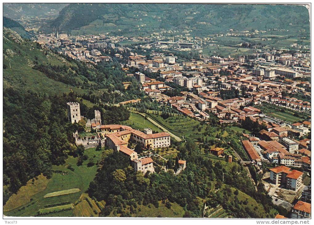 Vittorio Veneto Panorama Con Castello Di San Martino Viaggiata